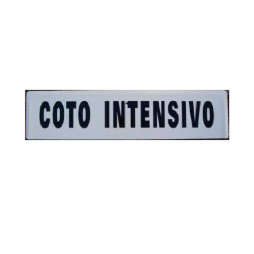 Tablilla Coto Intensivo Castilla la mancha 1