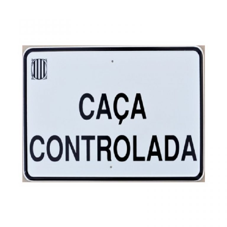Tablilla CAÇA CONTROLADA