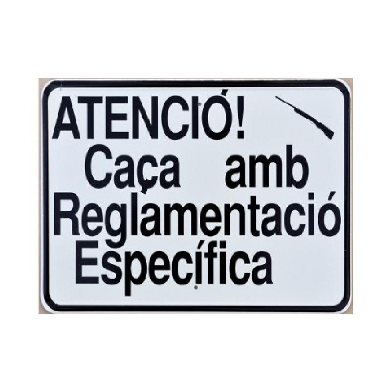Tablilla Primer Orden Caça amb Reglamentació Específica Catalunya 1