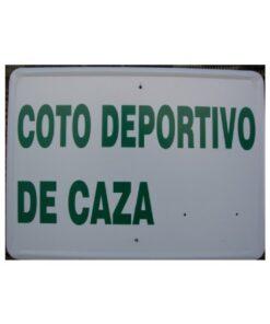 Tablilla Coto Deportivo Caza Andalucia