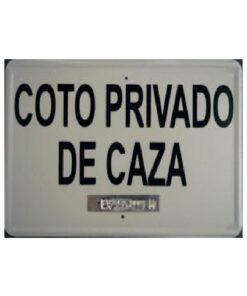 Tablilla de Caza: Coto Privado de Caza