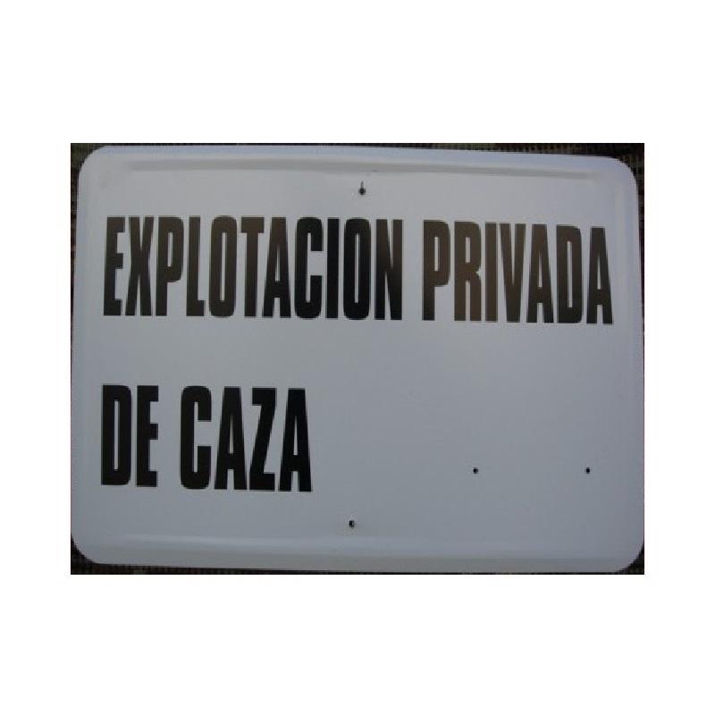 Tablilla Primer Orden Explotacion Privada de Caza Aragon 1