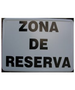Tablilla Primer Orden Zona de Reserva 1