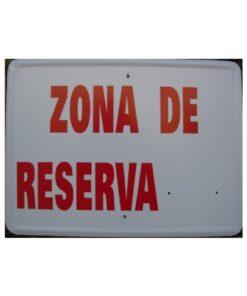 Tablilla Primer Orden Zona de Reserva Andalucia 1