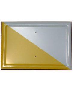 Tablilla Segundo Orden Blanca y Amarillo