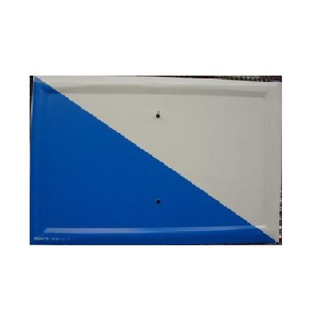 Tablilla Segundo Orden Blanca y Azul