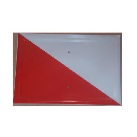 Tablilla Segundo Orden Blanca y Roja