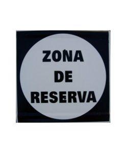 Tablilla Segundo Orden Zona de Reserva-