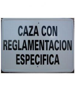 Tablilla de Primer Orden CAZA CON REGLAMENTACION ESPECIFICA 1