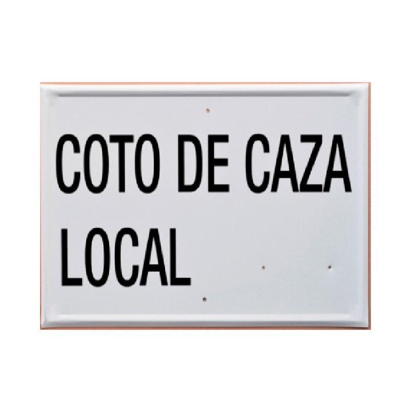 Tablilla COTO DE CAZA LOCAL Navarra