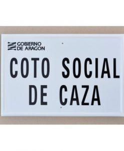 Tablilla de Primer Orden COTO SOCIAL DE CAZA