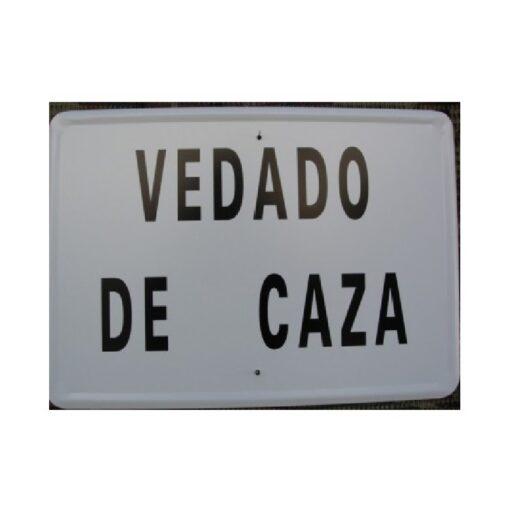 Tablilla VEDADO DE CAZA