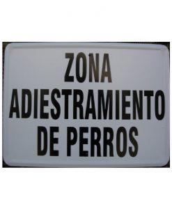 Tablilla de Primer Orden - ZONA ADIESTRAMIENTO DE PERROS 1