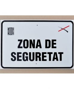 Tablilla de Primer Orden ZONA DE SEGURETAT