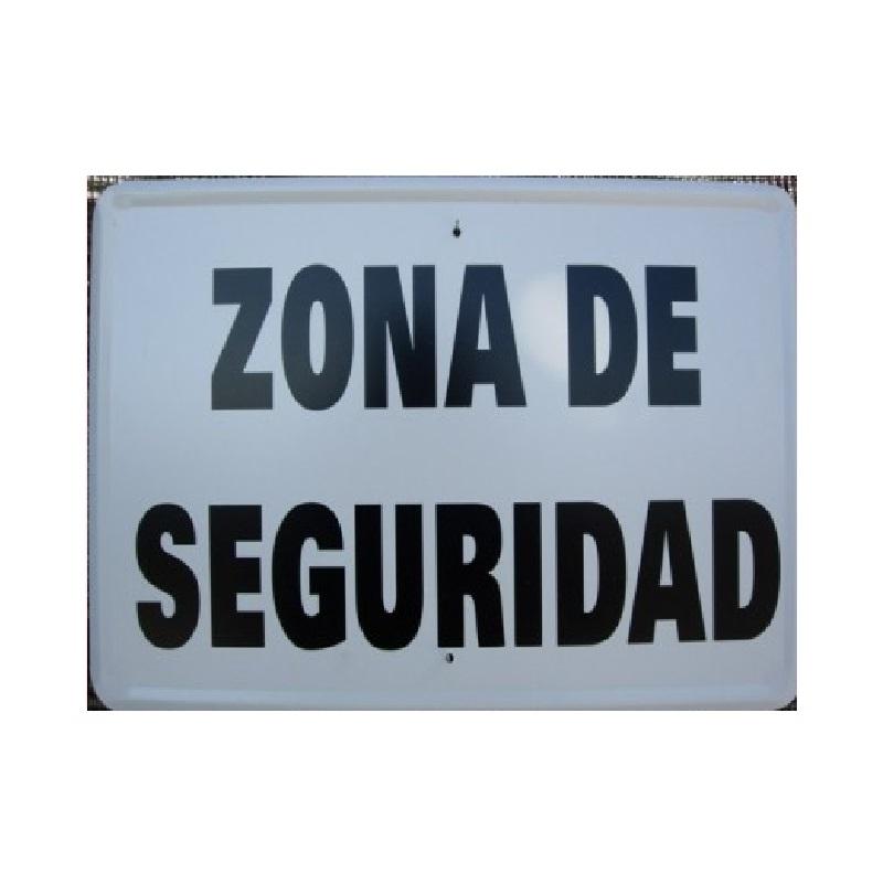 Tablilla de Primer Orden ZONA DE SEGURIDAD 1