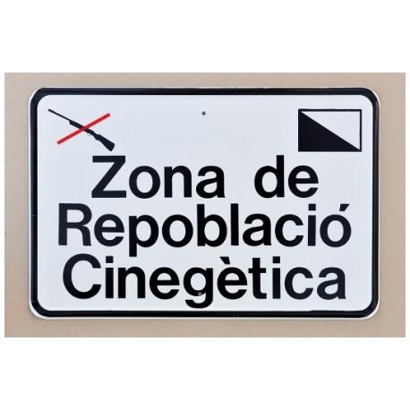 Tablilla de Primer Orden Zona de Repoblació Cinegètica