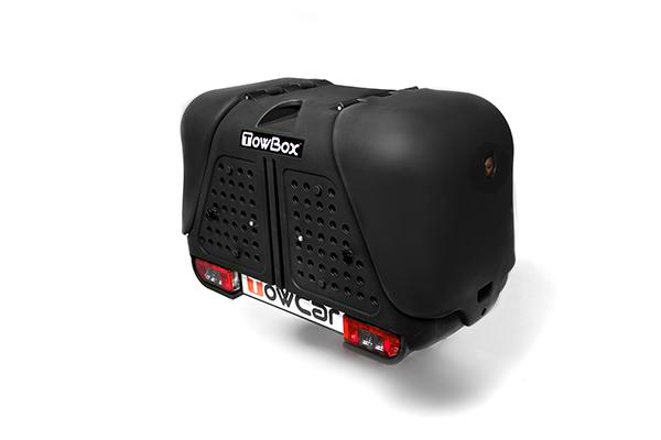 T2D000N TowBox V2 Dog Black Edition Portaperros sobre bola de enganche