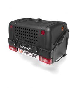 TBD000N TowBox V1 Dog Black Edition Portaperros sobre bola de enganche 3