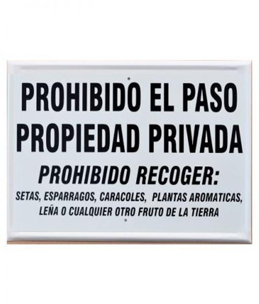 prohibidoelpasopropiedadprivadaprimerorden