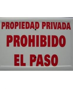 propiedadprivadaprohibido