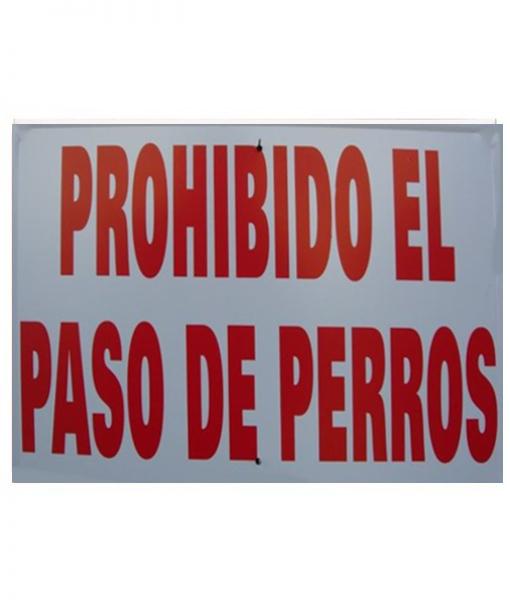 prohibido el paso de perros