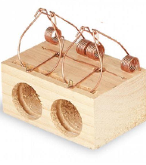 ratonera madera